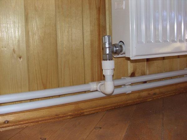2-х трубная система отопления