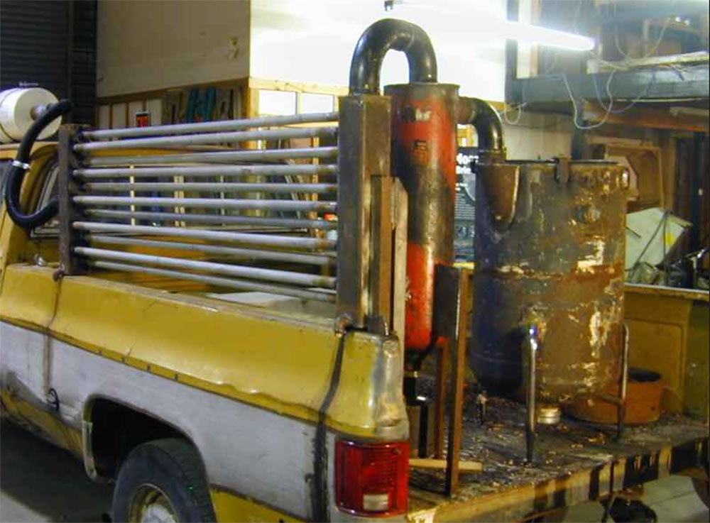 Газовый генератор с фильтром