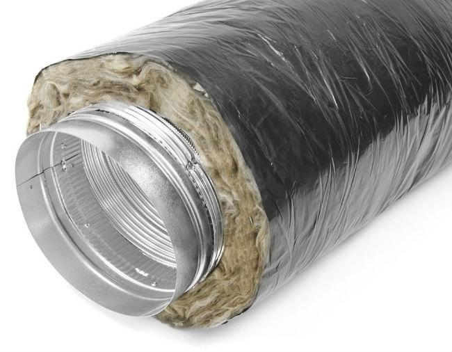Утепленный воздуховод для вентиляции