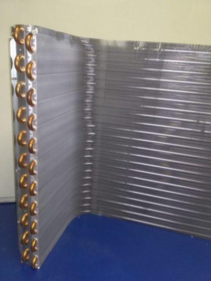 Теплообменник наружного блока кондиционера