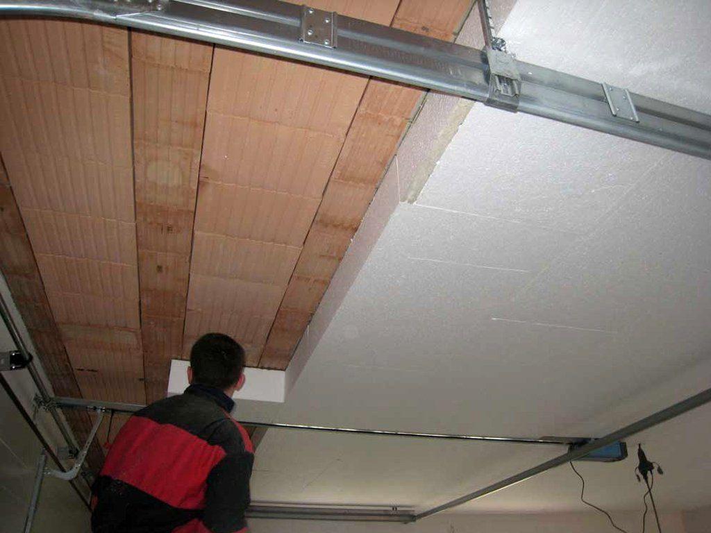 Утепление потолка в гараже