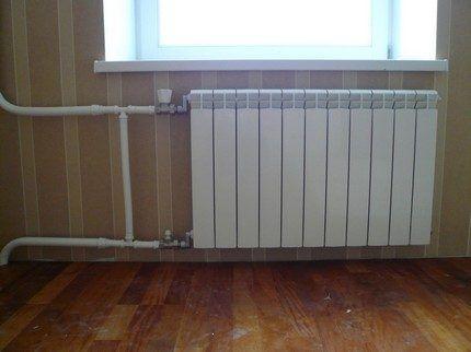 Многосекционный радиатор отопления