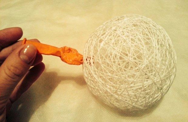 Основа для топиария из вязальных ниток