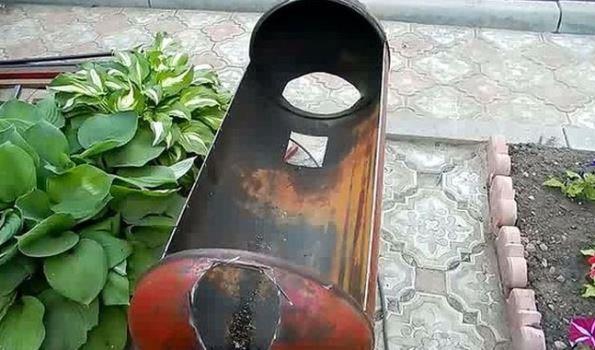 Отверстие входное и для дымохода