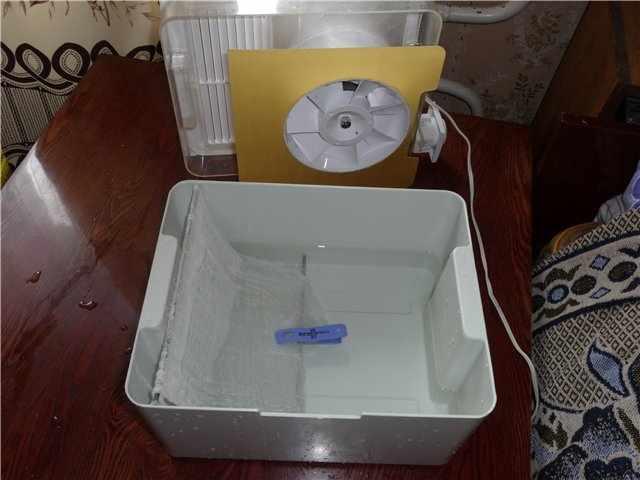 Изготавливаем увлажнитель с функцией очистки воздуха из подручных средств
