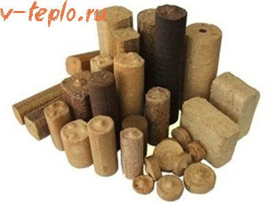 брикеты из древесины