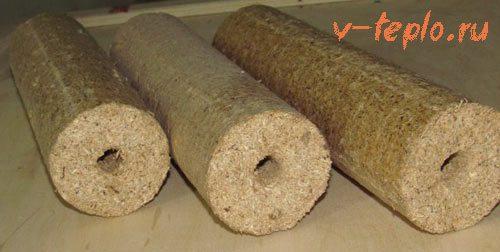 брикеты древесные