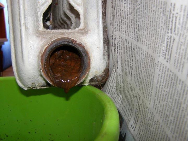 накипь и осадки в центральной системе отопления