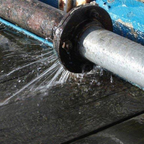 утечка воды в системе ГВС