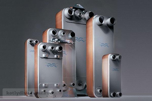 Теплообменник ГВС для настенного газового котла