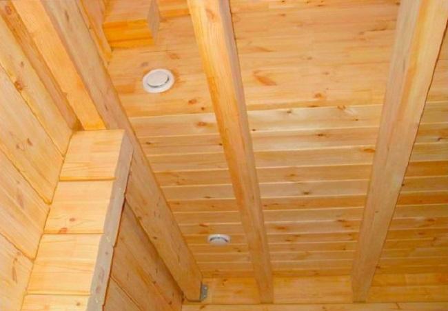Приточные каналы в потолке