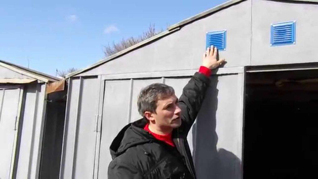 Естественная вентиляция - снаружи канал защищается решеткой
