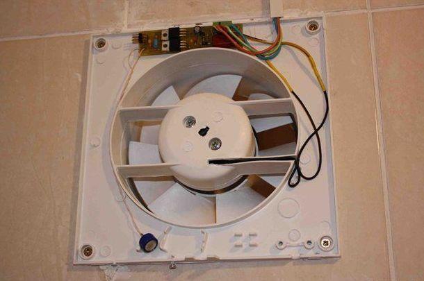 В принудительной системе вентиляции может быть использован осевой вентилятор