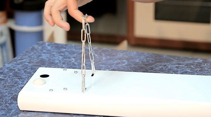 цепочка для подвески инфракрасного обогревателя